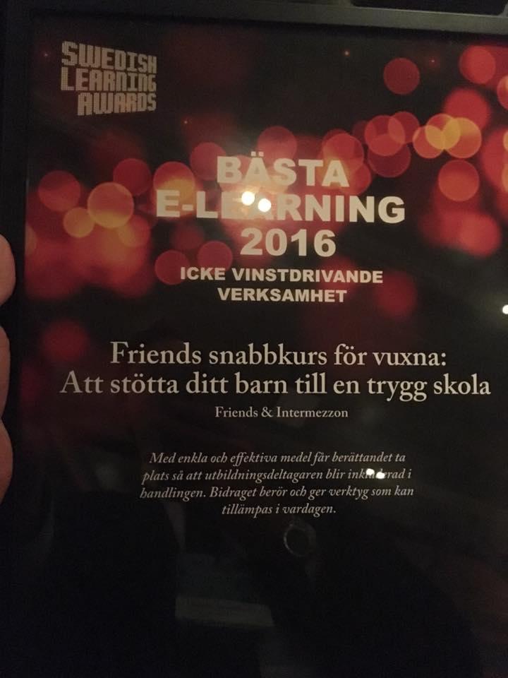 Intermezzon-Swedish learning awards